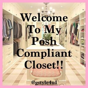 WELCOME TO MY POSH COMPLIANT CLOSET